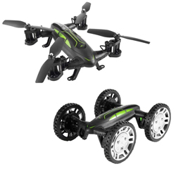Rc Cámara Drone 4ghz 2 1 Double 6 Axis Con Gyro Dron En Coche Road Model 4ch Remote Flying Air JuguetesFpvrc Cuadricóptero Control Hd 2 8nPk0wXO